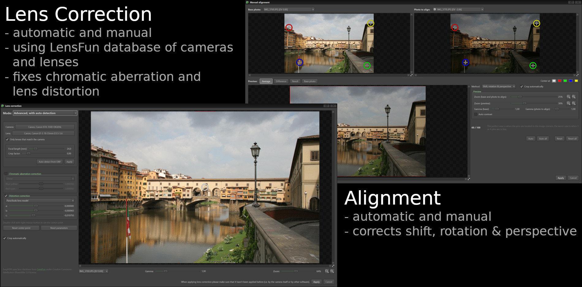 easyHDR - High Dynamic Range image processing software