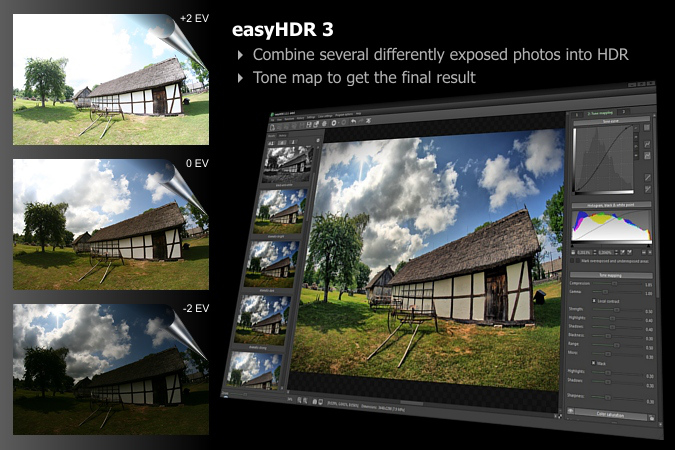 easyHDR - High Dynamic Range photography software